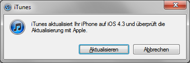 iOS 4.3 Software-Update für iPhone, iPad und iPod touch