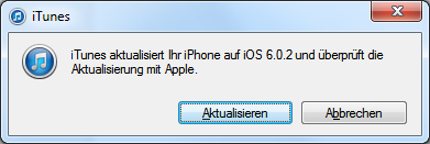 iOS 6.0.2 Software Update für iPhone 5 und iPad Mini
