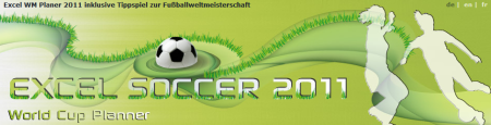 Excel Soccer World Cup Planner 2011