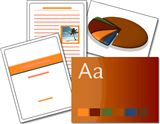 Office 2007 System Templates - Office document themes