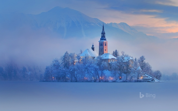 Bing in Winter